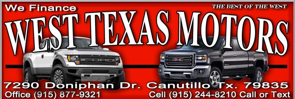 West Texas Motors Home